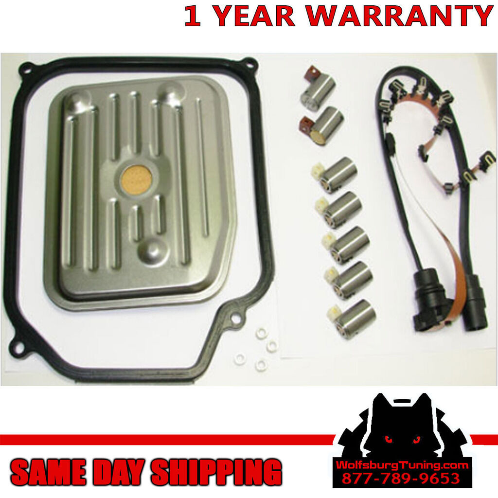 hight resolution of vw 4 speed automatic transmission solenoid harness complete kit