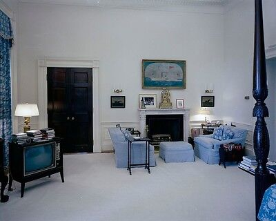 President John F Kennedy White House Bedroom 1962 New 8x10 Photo Presidents First Ladies