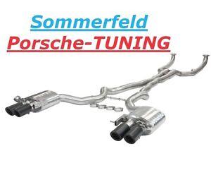 details zu bmw m5 f10 v8 4 4 klappenauspuff valvetronic exhaust tail pipe carbon endrohre