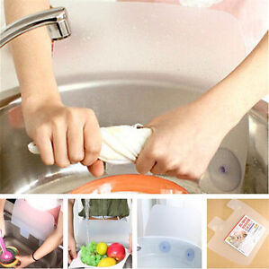 splash guard kitchen sink games for adults flexible water spitting baffle board image is loading