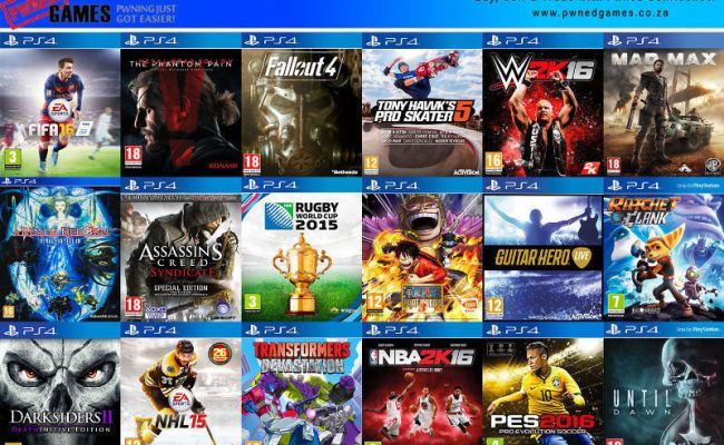 Ps4 Games H J º O Buy O º Sell º O Trade O º City