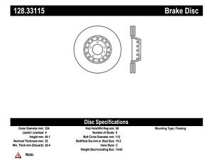 Disc Brake Rotor-OE Type Drilled Disc-Preferred Rear Right