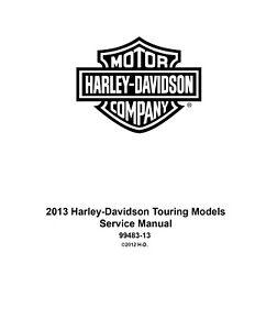 2013 Harley Davidson Touring Service Manual FLHR FLTRX