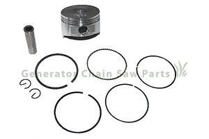 Piston Kit w Rings For Gas Honda Generator Lawn Mower