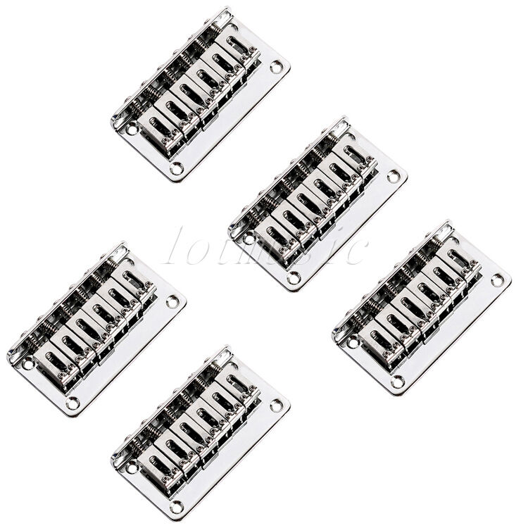 5 Fixed Hardtail Hard Tail Bridge for 6 String Electric