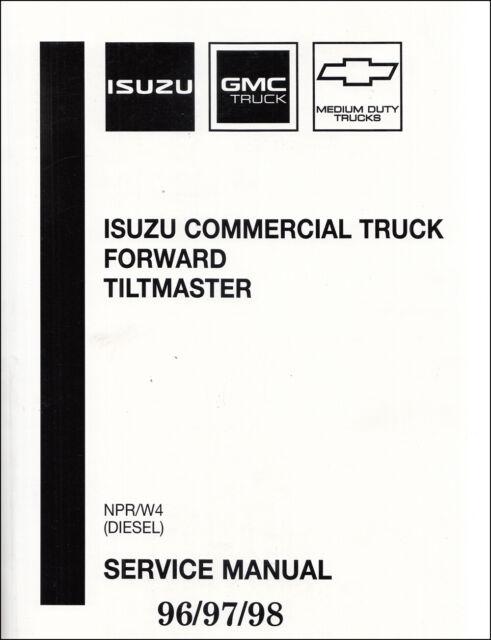 2 Shop Manuals NPR Service Repair W4 Diesel Book Forward