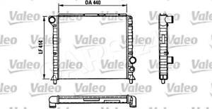 VALEO Engine Cooling Radiator Fits ALFA ROMEO 75 90 Sedan
