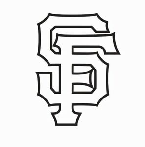 San Francisco Giants MLB Baseball Vinyl Die Cut Car Decal