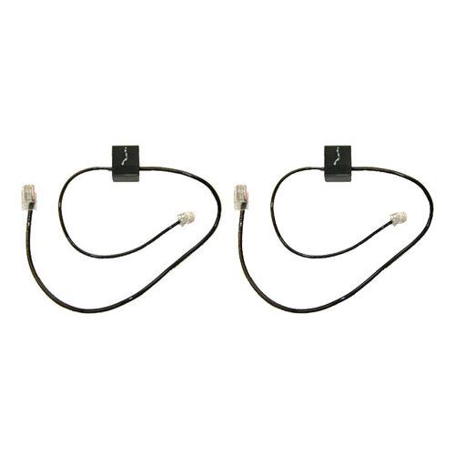 2 pcs Plantronics CS500 & W700 series Wireless Headset
