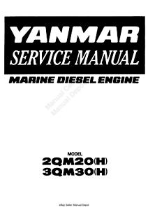 YANMAR 2QM20 (H) 3QM30 (H) MARINE DIESEL ENGINE SERVICE