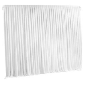 details about 7ft white backdrop curtains wedding birthday photography stage drapes masquerade