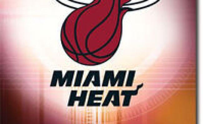 Miami Heat Logo Poster 60x90cm New Nba Basketball Team