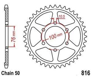 TMP Pignon Sortie Boite Arrière 45 Dents (Chaîne50) SUZUKI