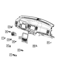 Our store order model Genuine MOPAR Vehicle Feature