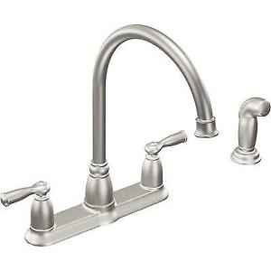 kitchen faucets stainless steel how to design a moen ca87000srs banbury faucet 411632 i33 ebay