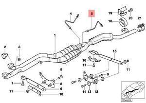 Genuine BMW E36 E38 E46 X5 E53 Z3 Lambda Probe Oxygen