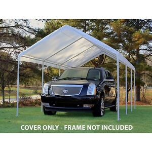 King Canopy 10 Feet X 20 Feet Drawstring Cover Only Frame