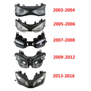Front Headlight For Kawasaki Ninja ZX6R 2003-2004 2005-06