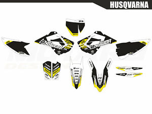 Motard graphics kit for Husqvarna TC FC 125 250 350 450