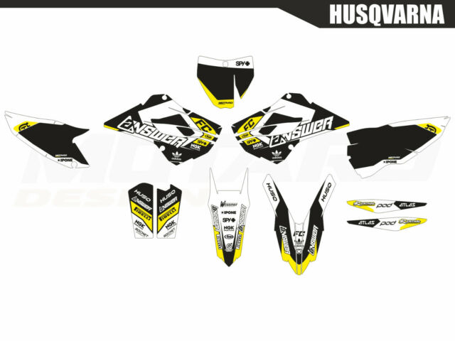 Motard graphics kit for Husqvarna TC FC 125 250 350 450