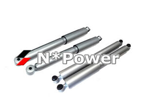 4X4 SHOCK HEAVY DUTY FRONT REAR FOR TOYOTA HILUX 4WD UTE