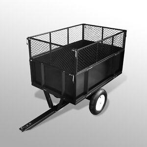 Remorque Tondeuse Tracteur de jardin Poids 300 kg Dimensions 105x78x34cm  eBay