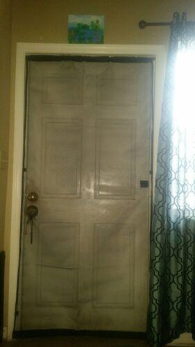 saint gobain easy breeze doorway screen curtain 38 x 81 inches
