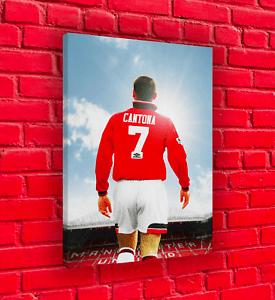 October 26, 2016 jamie dąbrowiecki no comment. Eric Cantona 7 Manchester United Print   eBay