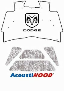 2002 2008 Dodge Truck 1500 Under Hood Cover with M-020