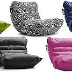 Big Joe Roma Lounge Chair Rustic Metal Kitchen Chairs Bean Bag Game Room Dorm Kids Multiple Image Is Loading