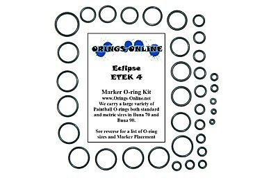 Planet Eclipse Ego Etek 4 Paintball Marker O-ring Kit 2