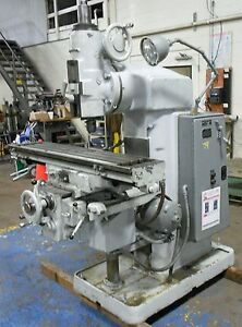 Brown And Sharpe Universal Milling Machine