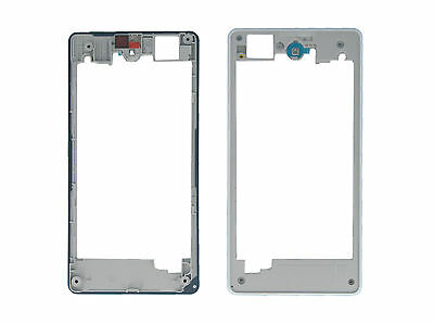 Genuine Sony D5503 Xperia Z1 Compact White Middle Cover