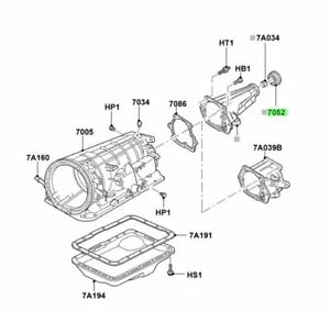 FORD OEM Automatic Transmission-Extension Housing Seal