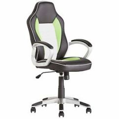 Posture Executive Leather Chair Covers For Dining Chairs With Arms Gaming Computer Desk Home Perfect Image Is Loading