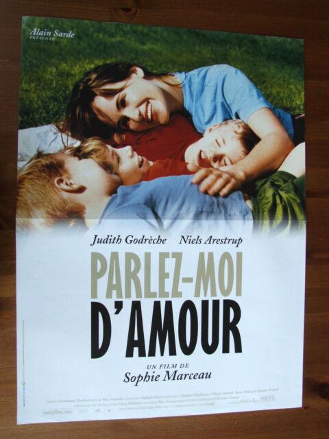 Parlez-moi D'amour 2002 : parlez-moi, d'amour, AFFICHE, PARLEZ-MOI, D'AMOUR, JUDITH, GODRECHE, SOPHIE, MARCEAU