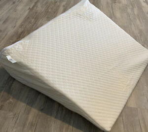 details about brentwood home wedge12inch therapeutic foam bed wedge pillow acid reflux