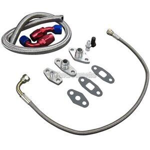 oil Line/Fitting Kit For Toyota Supra 1JZGTE 2JZGTE Single