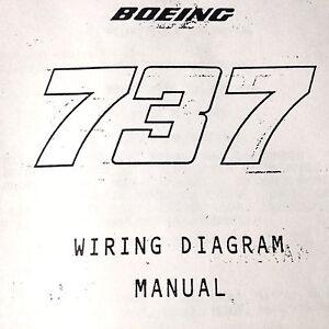 Boeing 73725A Airframe Wiring Diagram Manual   eBay