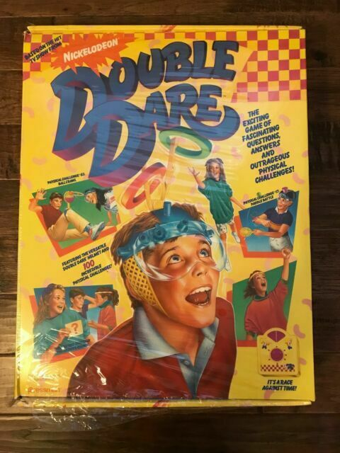 Double Dare : double, Vintage, Double, Nickelodeon, Complete, Pressman, Online