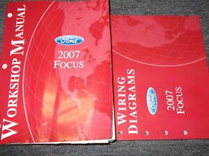 2007 Ford Focus Service Repair Shop Manual Set W Wiring