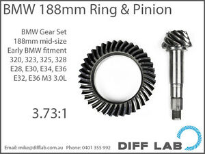 BMW E28 E30 E32 E34 E36 M3-3.0L Diff Differential Gears