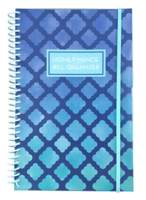 Home Finance Bill Organizer : finance, organizer, Finance, Organizer, White, Striped, Pockets, Monthly, Budget, Planner, Calendars, Planners, Organizers