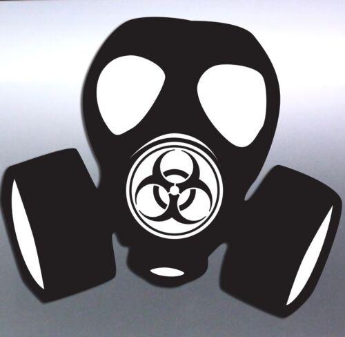 hazard gas mask toxic