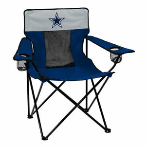 dallas cowboys folding chairs hanging chair cheap 1 adult party tailgate deluxe with image is loading
