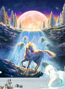 unicorn gift am11 mural sticker nursery
