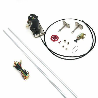 1953-70 Volkswagen Wiper Kit w Wiring Harness cable drive