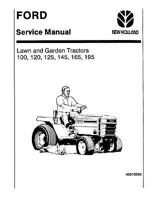 Ford LGT12 (H), LGT14 (H), LGT17 (H), LGT18H Lawn Tractors