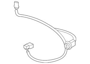 Genuine GM Harness Asm-Frt Fog Lp Wrg Harn Extn 15789983