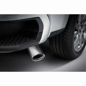 details about 2019 2020 gmc sierra 3 0l diesel genuine gm angle cut exhaust tip 84240388 1500